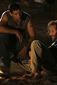 Henry Ian Cusick and Matthew Fox in Lost (2004)