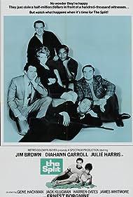 Ernest Borgnine, Donald Sutherland, Jim Brown, Jack Klugman, Julie Harris, and Warren Oates in The Split (1968)