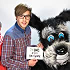 Iain Stirling and Ian West in The Dog Ate My Homework (2014)