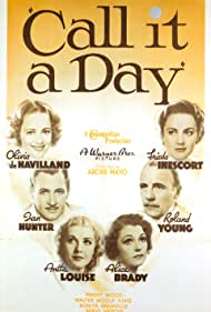 Call It a Day (1937) Poster - Movie Forum, Cast, Reviews