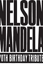 Freedomfest: Nelson Mandela's 70th Birthday Celebratation Poster