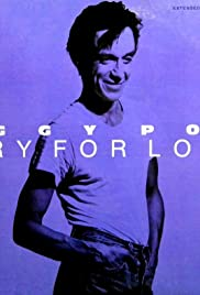 Iggy Pop: Cry for Love Poster