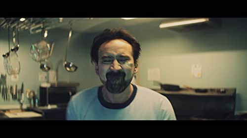 """A quiet loner (Nic Cage) finds himself stranded in a remote town when his car breaks down. Unable to pay for the repairs he needs, he agrees to spend the night cleaning Willy's Wonderland, an abandoned family fun center. But this wonderland has a dark secret that the """"The Janitor"""" is about to discover."""