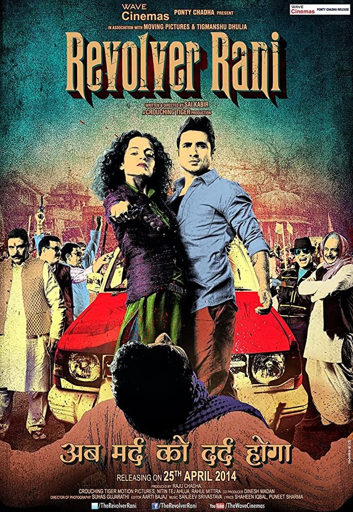 Revolver Rani 2014 Hindi Full Movie 720p HDRip 950MB ESub Download