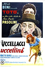 Uccellacci e uccellini (1969) Poster - Movie Forum, Cast, Reviews