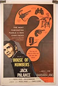 Jack Palance and Barbara Lang in House of Numbers (1957)