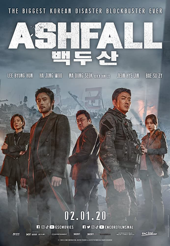 Ashfall 2020 English 720p HDRip 800MB ESubs Download