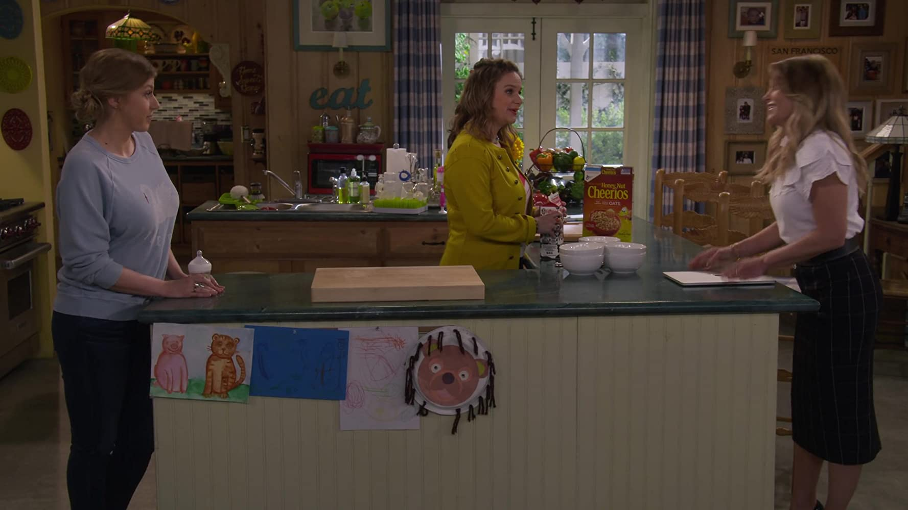 Andrea Barber, Candace Cameron Bure, and Jodie Sweetin in Family Business (2019)