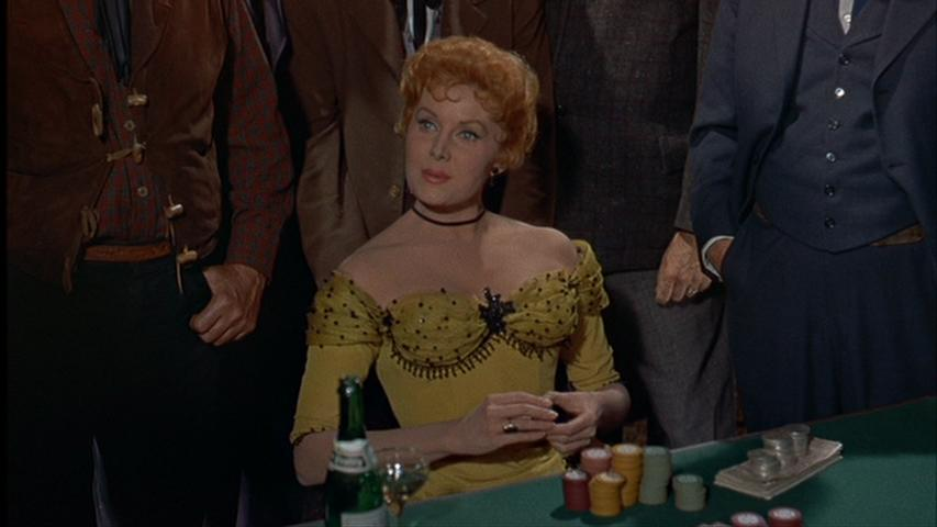 Rhonda Fleming in Gunfight at the O.K. Corral (1957)