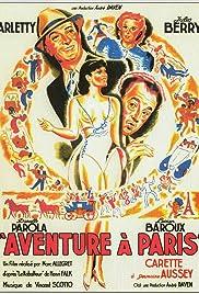 Aventure à Paris Poster