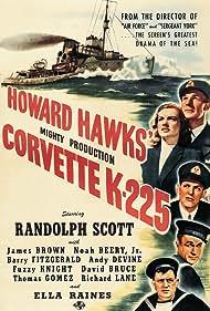Randolph Scott, Noah Beery Jr., James Brown, Andy Devine, and Ella Raines in Corvette K-225 (1943)