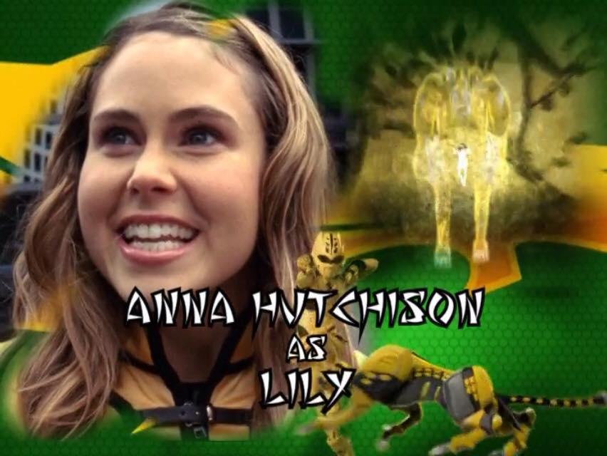 Anna hutchison power rangers