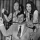 Jean-Paul Belmondo, Béatrice Altariba, and Christine Kaufmann in Un nommé La Rocca (1961)