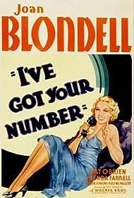 I've Got Your Number (1934) Poster - Movie Forum, Cast, Reviews