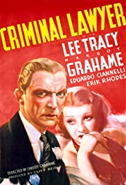 Criminal Lawyer (1937) starring Lee Tracy on DVD on DVD