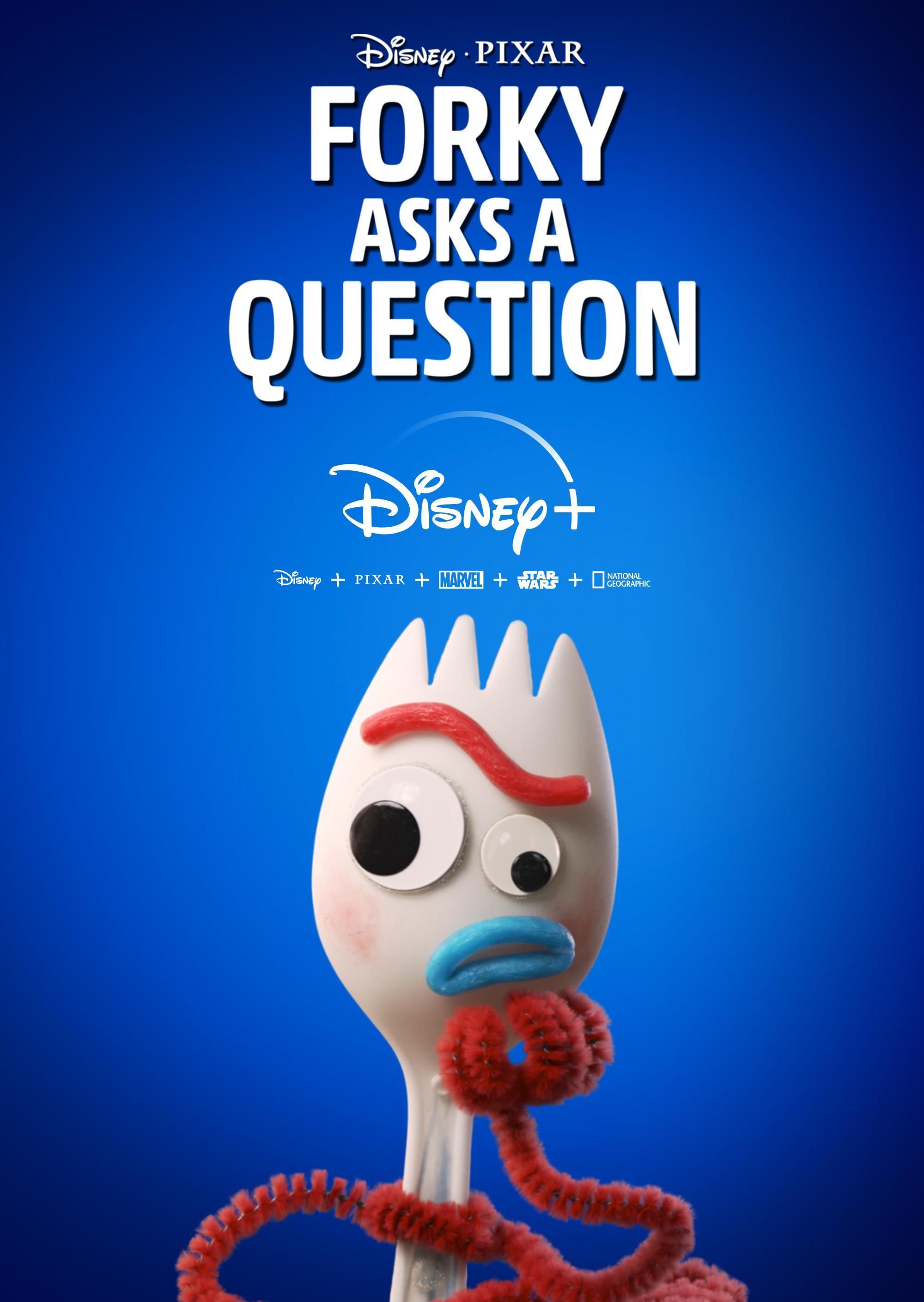 دانلود زیرنویس فارسی سریال Forky Asks a Question