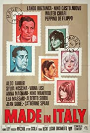 Made in Italy (1965) Poster - Movie Forum, Cast, Reviews