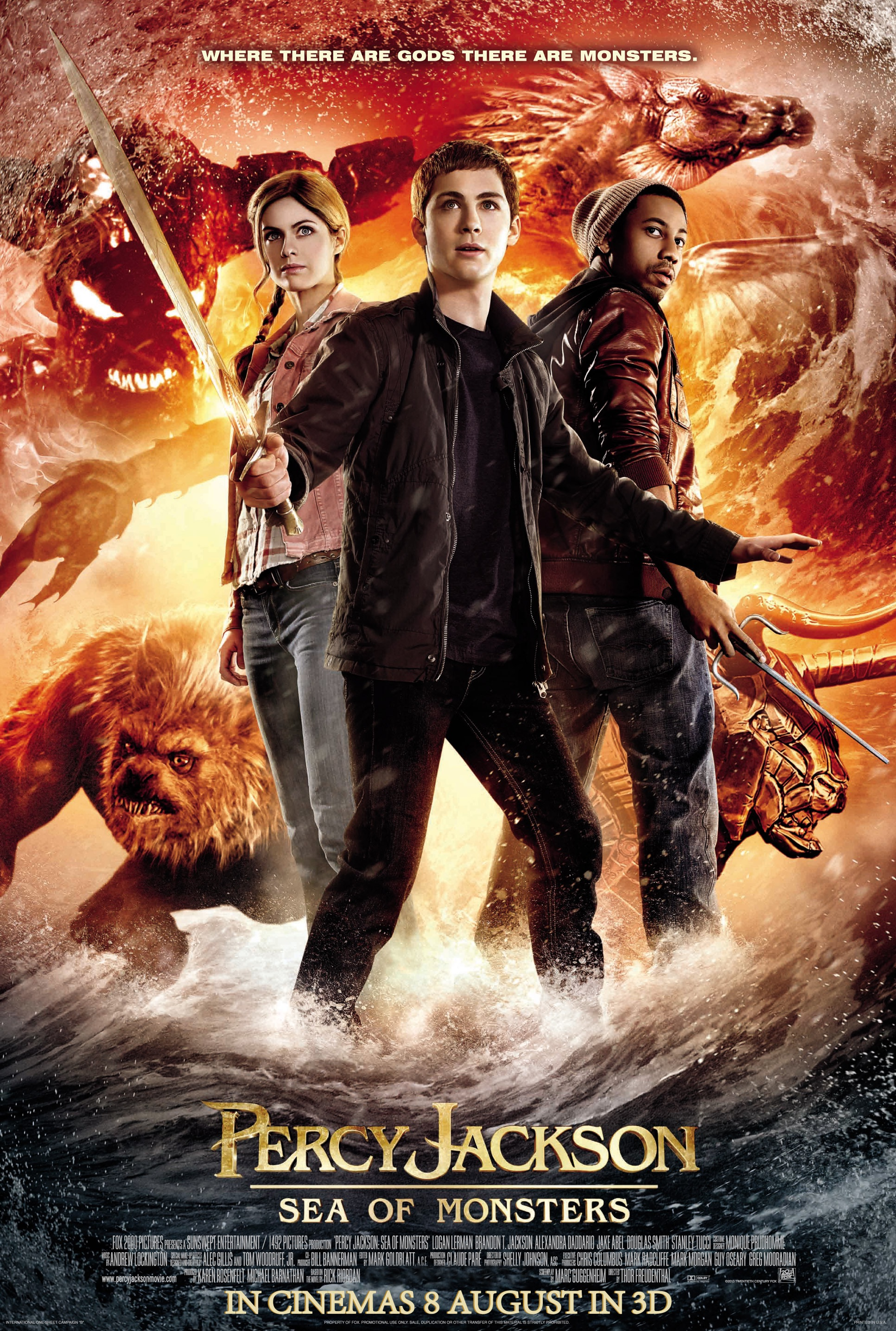 Percy Jackson Sea Of Monsters 2013 Imdb