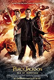Logan Lerman, Brandon T. Jackson, and Alexandra Daddario in Percy Jackson: Sea of Monsters (2013)