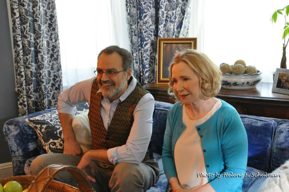 Sal with Debra Jo Rupp (''That 70's Show''), in ''Fair Market Value''