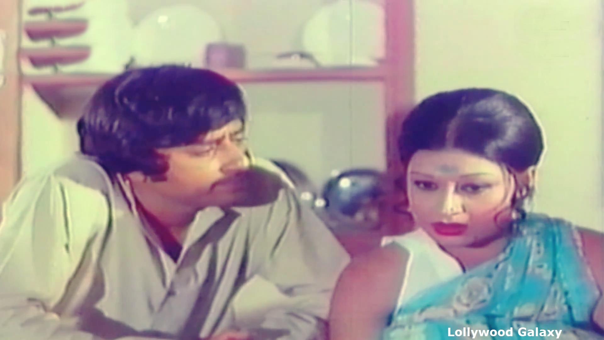 Shabnam and Nadeem Baig in Aina (1977)