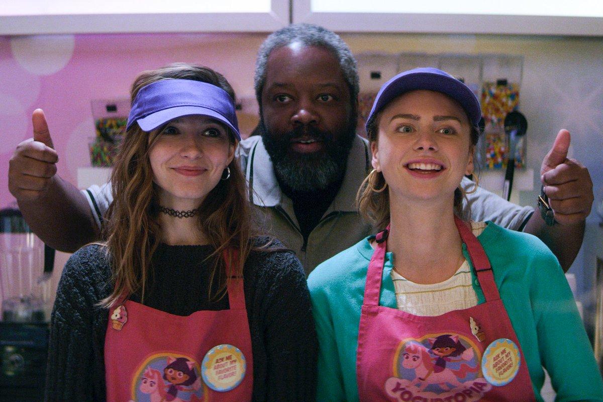 Kadeem Hardison, Maddie Phillips, and Anjelica Bette Fellini in Teenage Bounty Hunters (2020)
