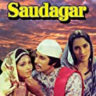 Amitabh Bachchan and Nutan in Saudagar (1973)