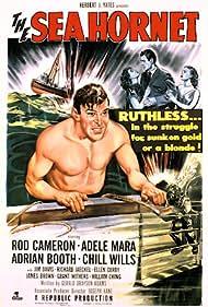 Rod Cameron, Lorna Gray, and Adele Mara in The Sea Hornet (1951)
