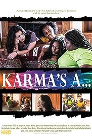 Karma's a...! Poster
