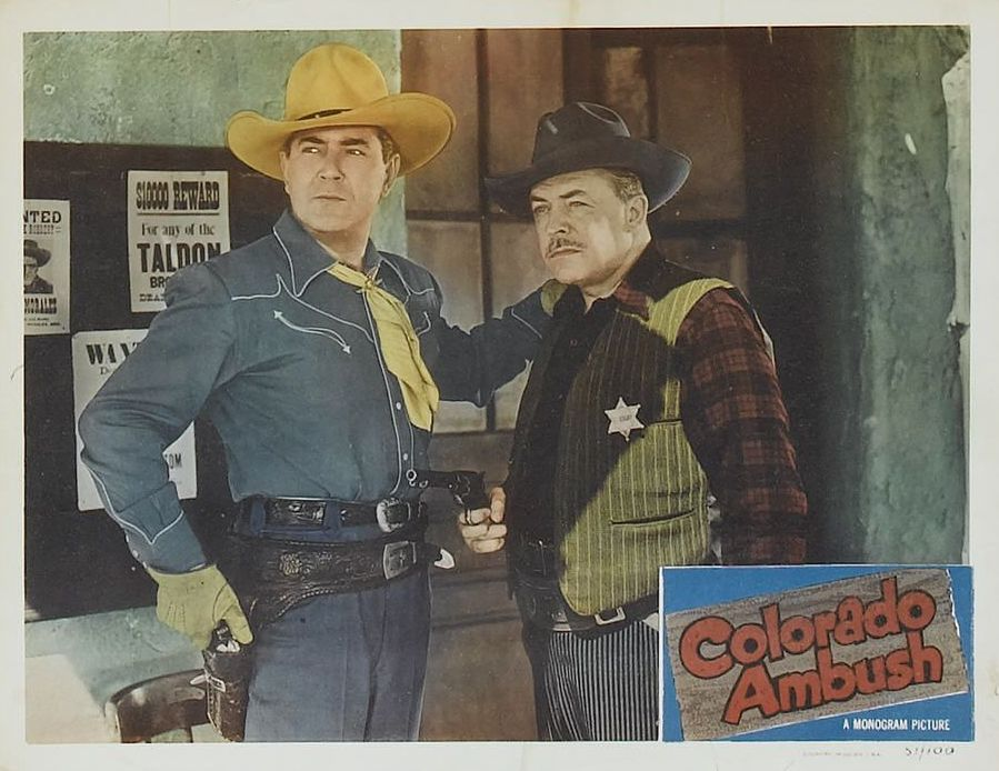 Johnny Mack Brown and Lyle Talbot in Colorado Ambush (1951)