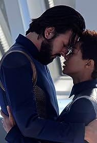 Sonequa Martin-Green and Shazad Latif in Star Trek: Discovery (2017)