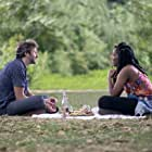 Chris O'Dowd and Jessica Williams in The Incredible Jessica James (2017)