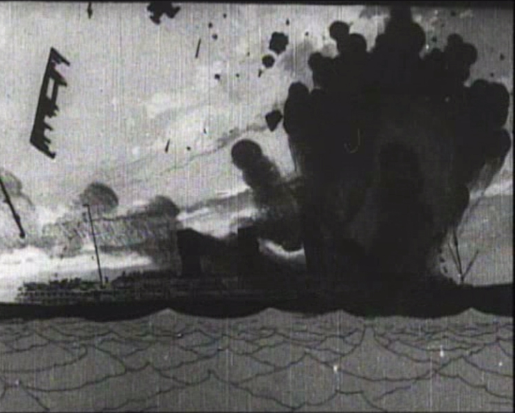 The Sinking of the 'Lusitania' (1918)