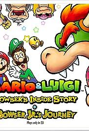 Mario & Luigi: Bowser's Inside Story + Bowser Jr.'s Journey Poster