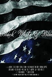 Black White & Blue Poster