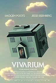 Jesse Eisenberg, Imogen Poots, and Senan Jennings in Vivarium (2019)