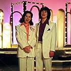 Patrick Levis and Janaya Stephens in Inside the Osmonds (2001)
