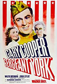 Gary Cooper, Walter Brennan, and Joan Leslie in Sergeant York (1941)