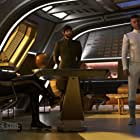 Wilson Cruz, Anson Mount, Ethan Peck, and Sonequa Martin-Green in Star Trek: Discovery (2017)