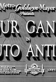 Auto Antics Poster