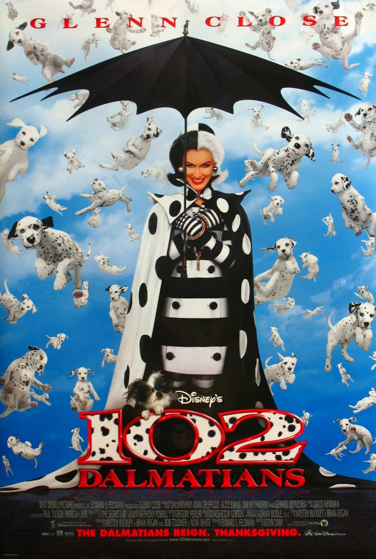 102 Dalmatians (2000) WEBRip 480p & 720p