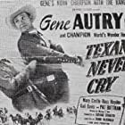 Gene Autry and Russell Hayden in Texans Never Cry (1951)
