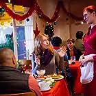 Alicia Witt, Donald Faison, and Anna Brisbin in A Snow Globe Christmas (2013)