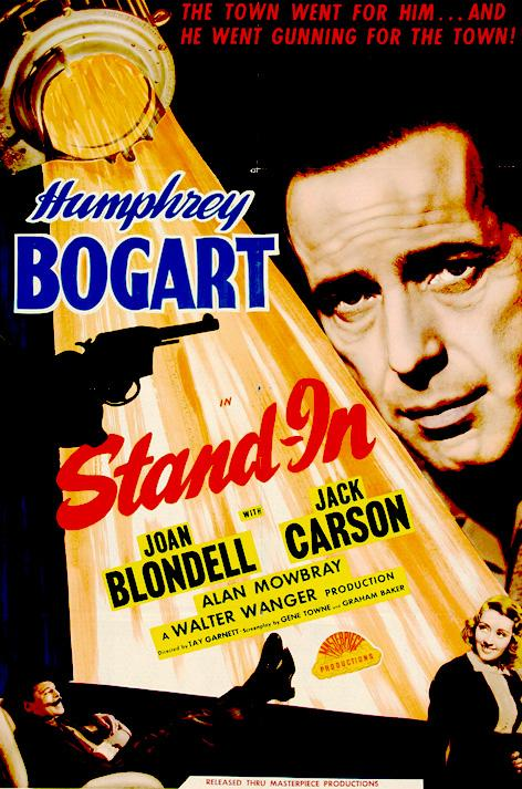 Humphrey Bogart, Joan Blondell, and Leslie Howard in Stand-In (1937)