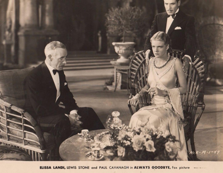 Paul Cavanagh, Elissa Landi, and Lewis Stone in Always Goodbye (1931)