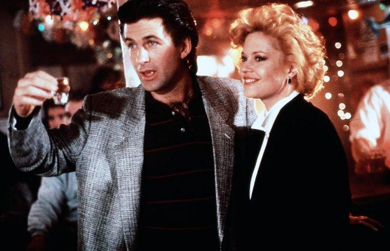 Alec Baldwin and Melanie Griffith in Working Girl (1988)