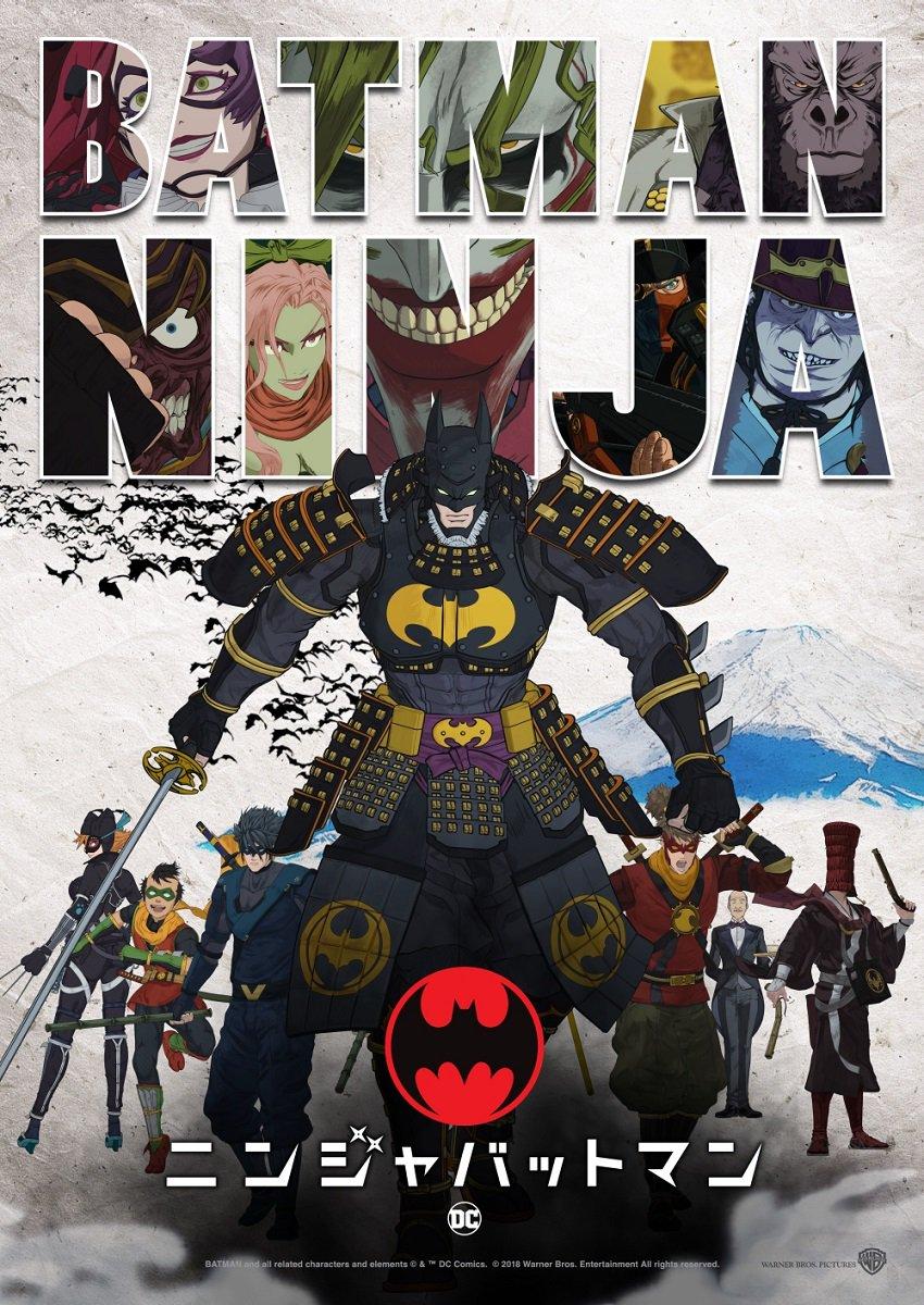 Batman Ninja (2018) BluRay 720p & 1080p