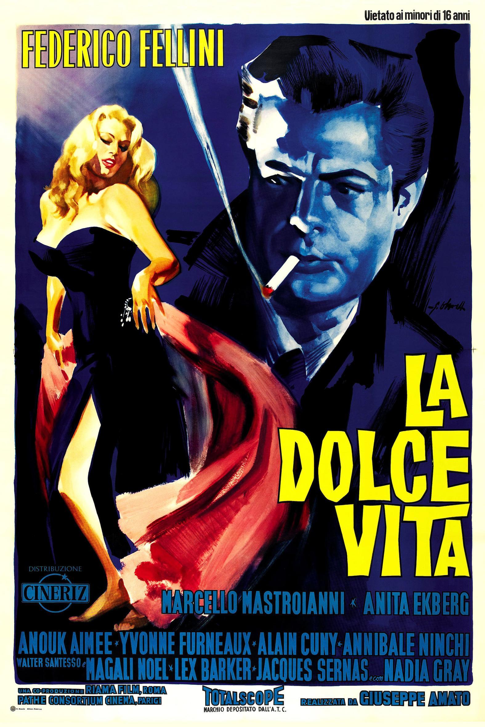 SALDUS GYVENIMAS (1960) / LA DOLCE VITA