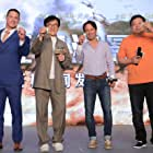 Jackie Chan, Scott Waugh, and John Cena at an event for Project X-Traction (2022)