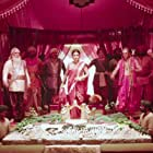 Ramya Krishnan, Nassar, Sathyaraj, Prabhas, and Rana Daggubati in Bãhubali: The Beginning (2015)